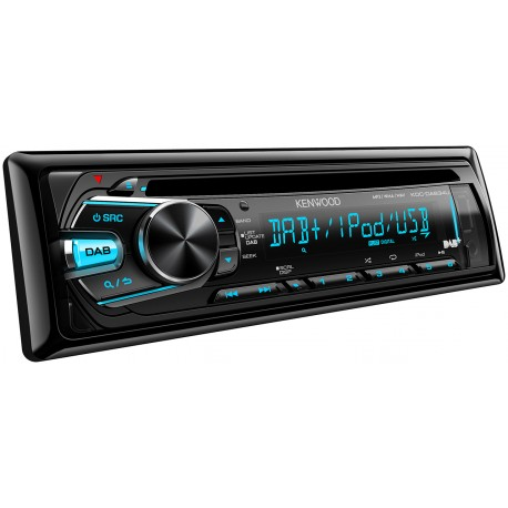 Autoradio CD, Tuner DAB, USB, iPod direct / KDC-DAB34U
